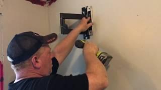 Installing a BARKAN model 3400 Full Motion TV wall mount