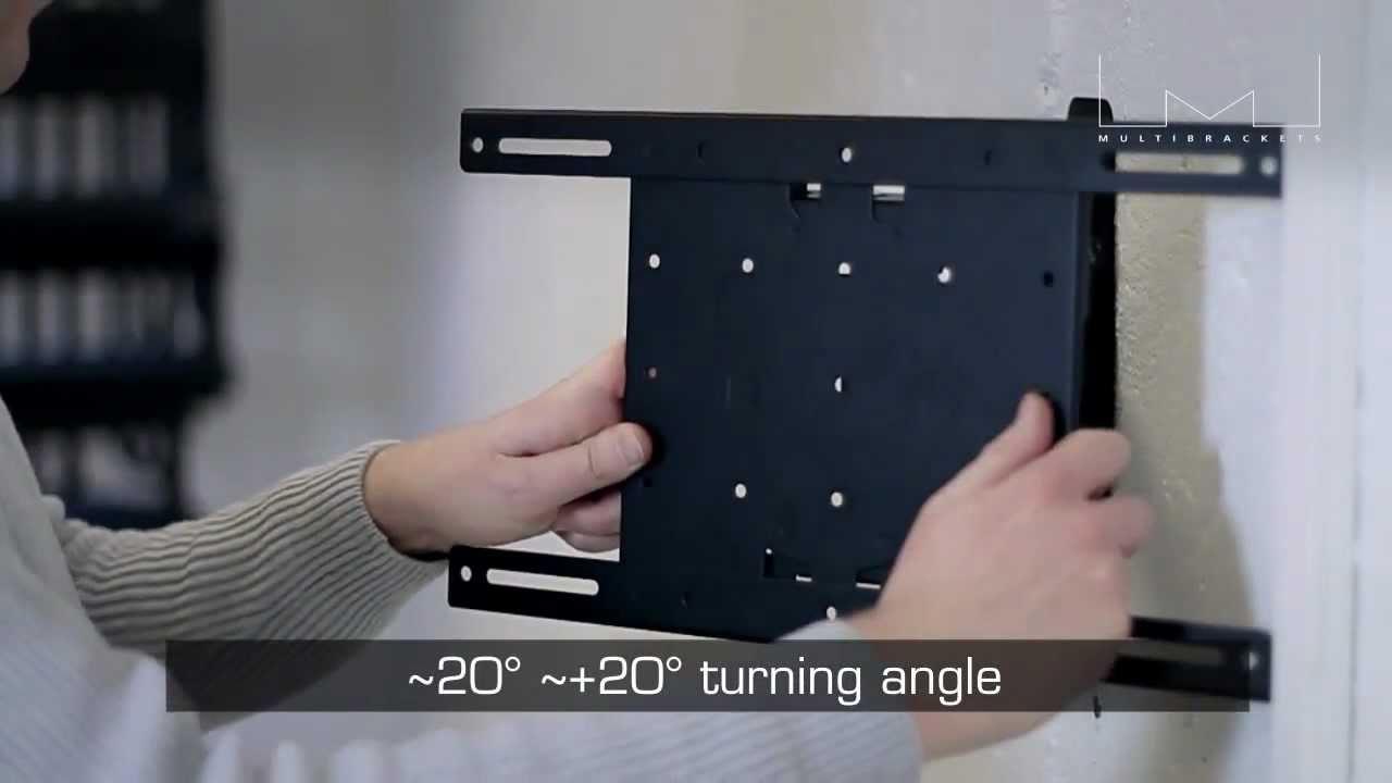 neigbare schwenkbare vesa tv wandhalterung bei cmb youtube. Black Bedroom Furniture Sets. Home Design Ideas