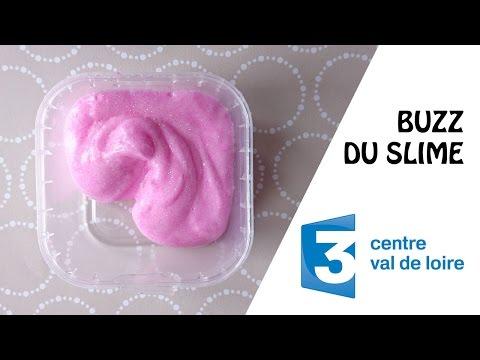 La colle Cléopâtre idéale pour fabriquer du Slime  Reportage France 3  Mars 2017