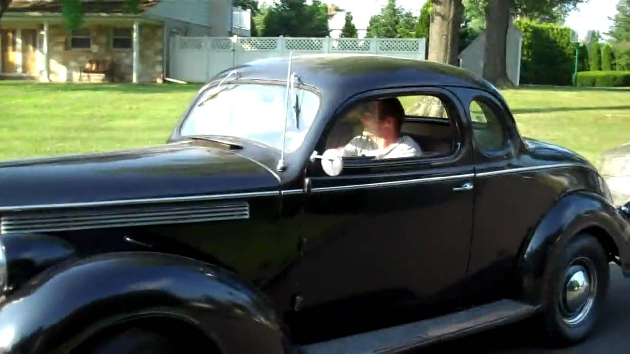Wiring Ford Old Cars 1938 Dodge Brothers Buisness Coupe 2 Door Youtube