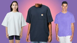 The Best Boxy Tees You Can Pick Up RIGHT NOW! Carhartt, American Apparel, Uniqlo U
