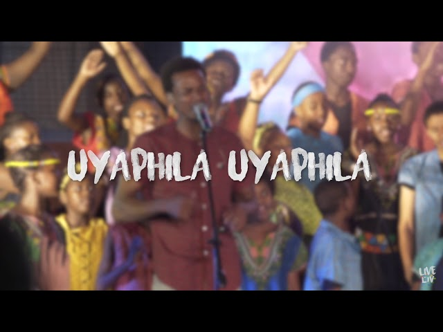 Come Holy Spirit (Uthando) Lyric Video - LIVE at LIV