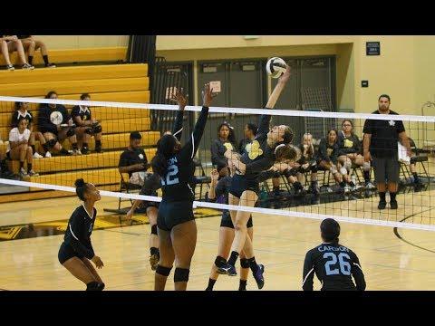 Carson High vs. San Pedro High Girls Volleyball (10-5-2017)