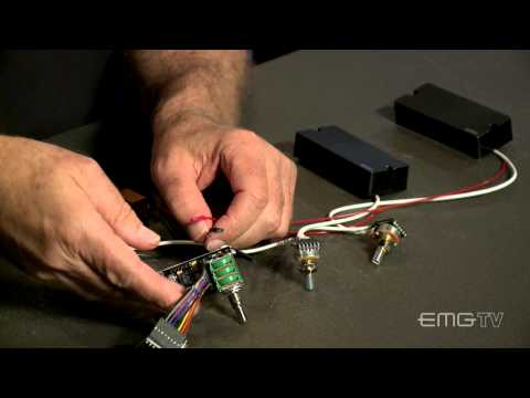 How to install EMG BQC system for bass