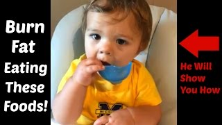 How my grandson Owen can show you the right food combinations to keep your body in fat burning mode