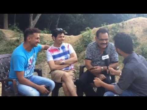 Interview of Mushtaq khan,Nikhil Upreti,Anil mahaske for movie Commitment 60 hours Nepali movie 2017