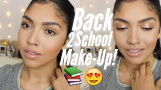 Baixar AFFORDABLE Back 2 School Makeup ! Bronzed & Golden // Mariaagloriaa