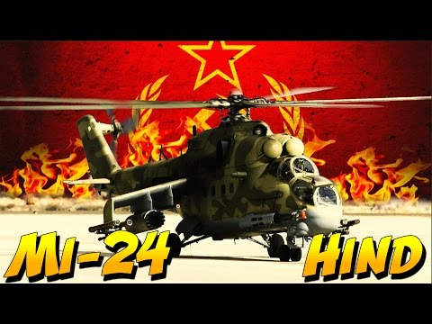 Mi-24 HIND ATTACK HELICOPTER (Heliborne Gameplay)