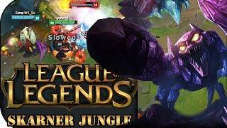 bei den worlds 2016 gesehen skarner jungle   league of legends gameplay deutsch