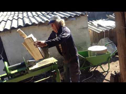 Mașina de spart lemne