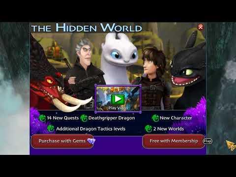 Открытие нового мира? | Как приручить дракона 3 | Обновление игры | SoD