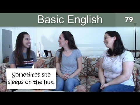 Lesson 79 ????? Basic English with Jennifer ??? Habits & Using WHEN