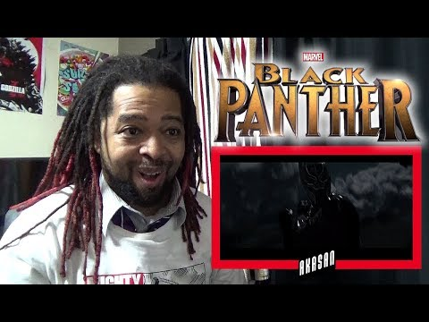 Black Panther Official Trailer REACTION!! (PANTHER POWERS ACTIVATE!!)