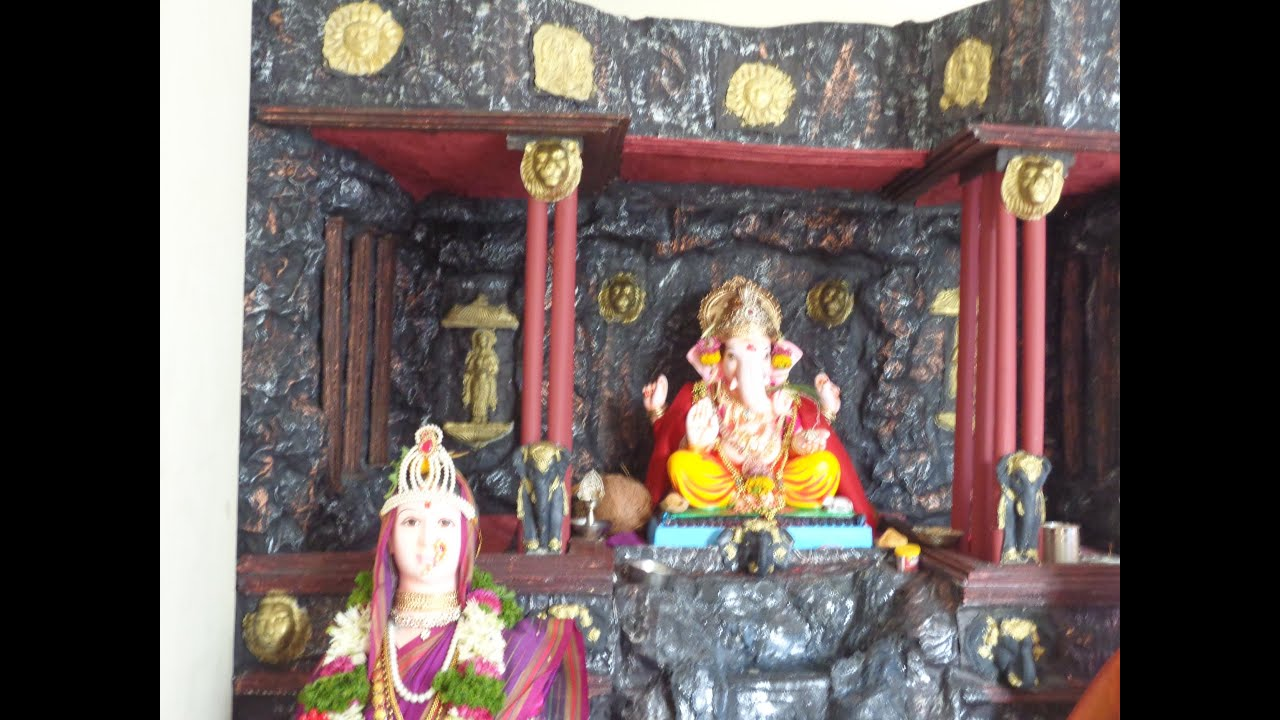 Ganpati Decorations At Home Eco Friendly