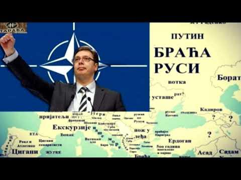 RUSI CE SPRECITI VUCICA I MAKRONA - VUCIC CIM PRIZNA KiM, SRBIJA ULAZI U NATO?!
