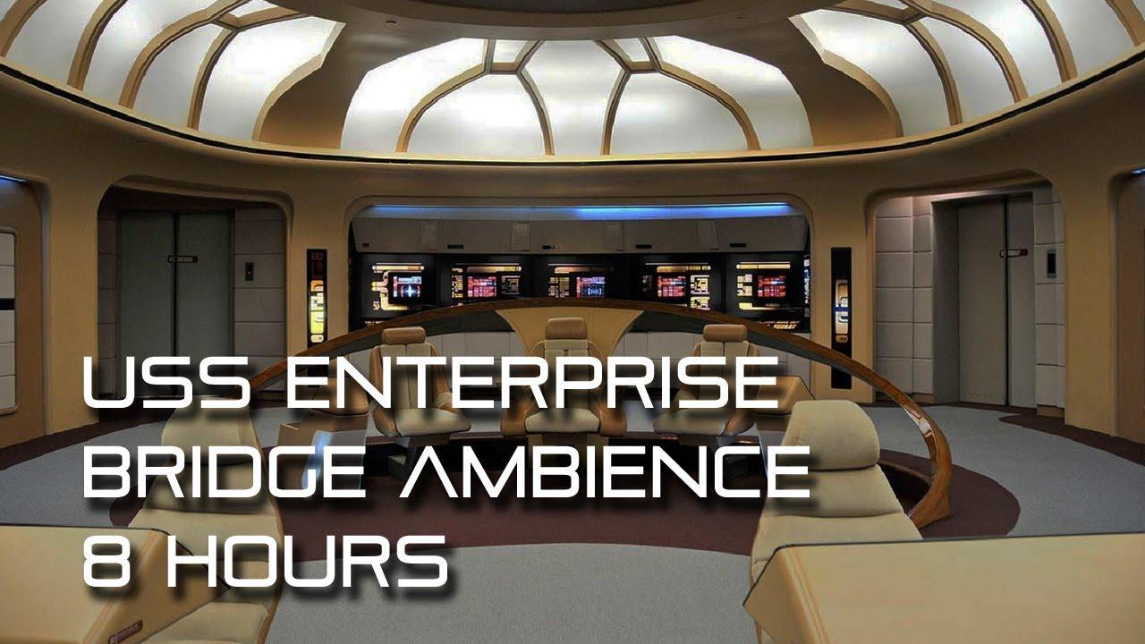 Star Trek: TNG Bridge Background Ambience *8 HOURS* (Wear headphones!)  YouTube
