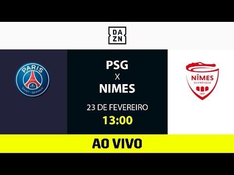 PSG x Nimes AO VIVO e DE GRAÇA! Assista aqui com o DAZN!