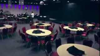 White Rose Banqueting Suite - Time Lapse - Set Up
