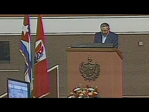 Castro Rules Out Multi-party System In Cuba