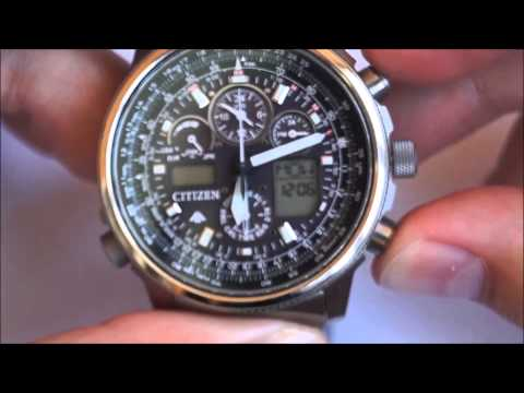 citizen u680 setting instruction