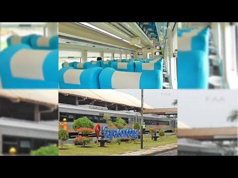 Mencoba Kereta Eksekutif Baru K1 18 Argo Parahyangan Gambir - Bandung - Kiaracondong