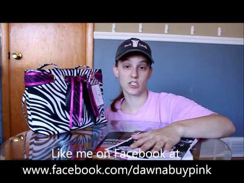 Pink Zebra Party Bag