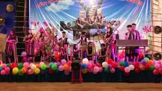 """hòa tấu nhạc cụ dân tộc - Đêm diễn nguyện """"20 Dấu Chân Việt Tộc Trên Tây Nguyên""""."""