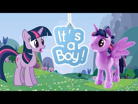Pony Custom Tutorial - Transform Twilight Sparkle to a BOY!