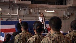 US Ambassador visits Naval Beach Unit 7 in Misawa, Japan.