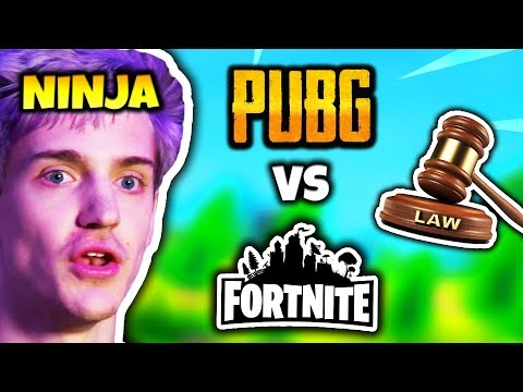 NINJA REACTS TO PUBG SUING FORTNITE | Fortnite Daily Funny Moments Ep.84 thumbnail