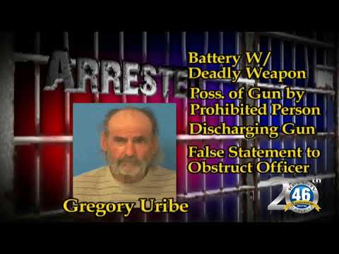 10/13/2017 Nye County Sheriff's Office Arrest | Uribe