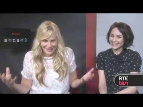 Daryl Hannah & Tuppence Middleton talk Sense8