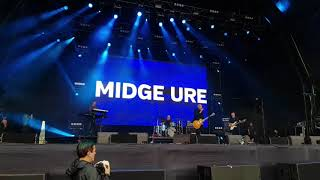 Midge Ure at Lets Rock Liverpool, July 2019