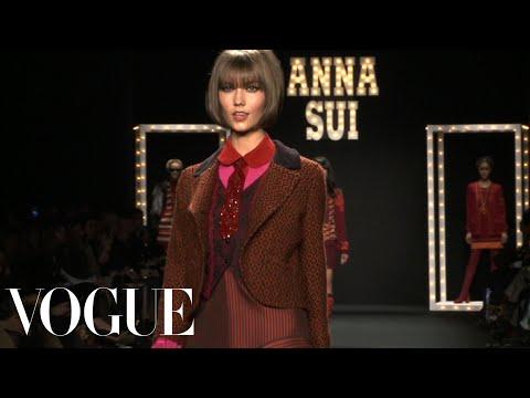 Fashion Show - Fall 2013 Ready-to-Wear: Anna Sui