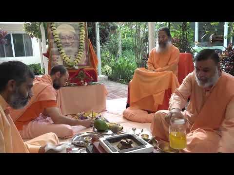 Kriya Yoga Institute Foundation Day 2020 - Fire Ceremony