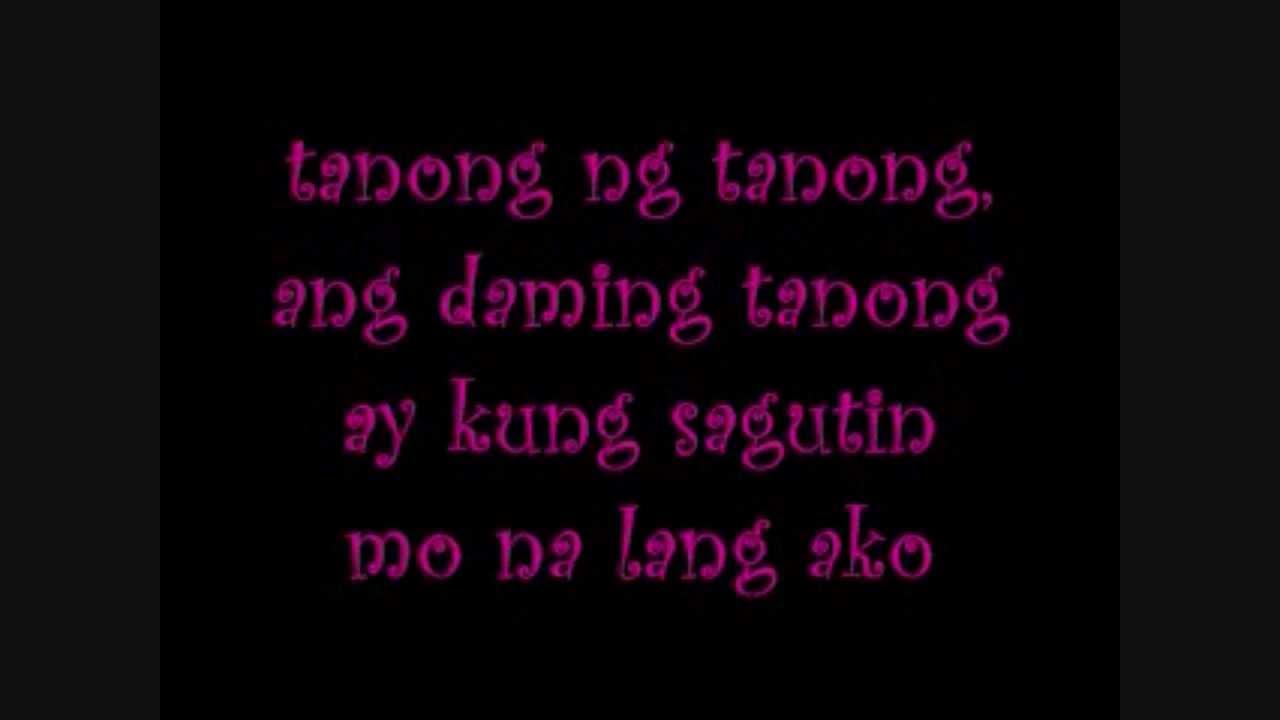 tanong ng tanong by young jv