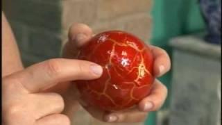 19/12/2009 - Bolas de natal craqueladas
