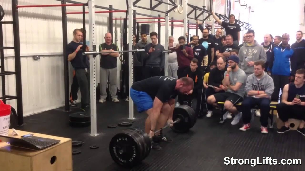 Mike Tuchscherer Deadlifting at StrongLifts London 2014