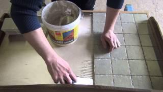Столешница с керамической плиткой 1(В этом видео я покажу как сделать столешницу с керамической плиткой Мой сайт http://amarant-pro.ru/ Мой 2й канал..., 2015-05-06T16:27:46.000Z)