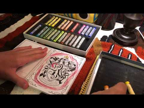 asmr-harry-potter-postcard-coloring-book-with-pastels---soft-speaking/whispering