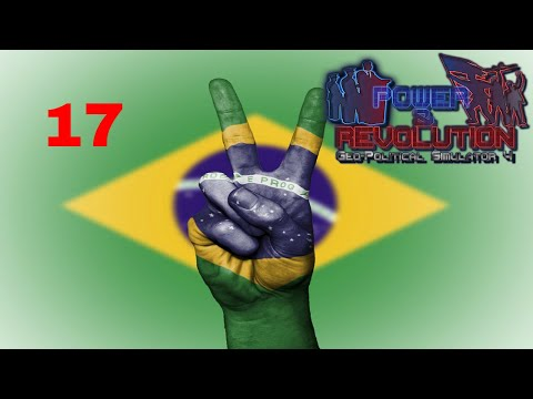 Power and Revolution (Geopolitical Simulator 4) Brazil Part 17 Conquering Bolivia