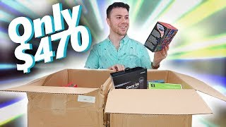 I Paid $470 for $2,200 Worth of MYSTERY TECH! Amazon Returns Unboxing!