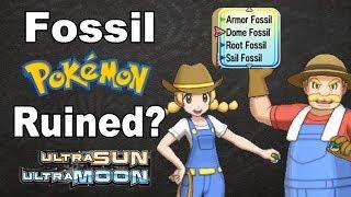 Fossil Pokemon Ruined in Ultra Sun and Moon [Dream Park Discussion] | @GatorEXP