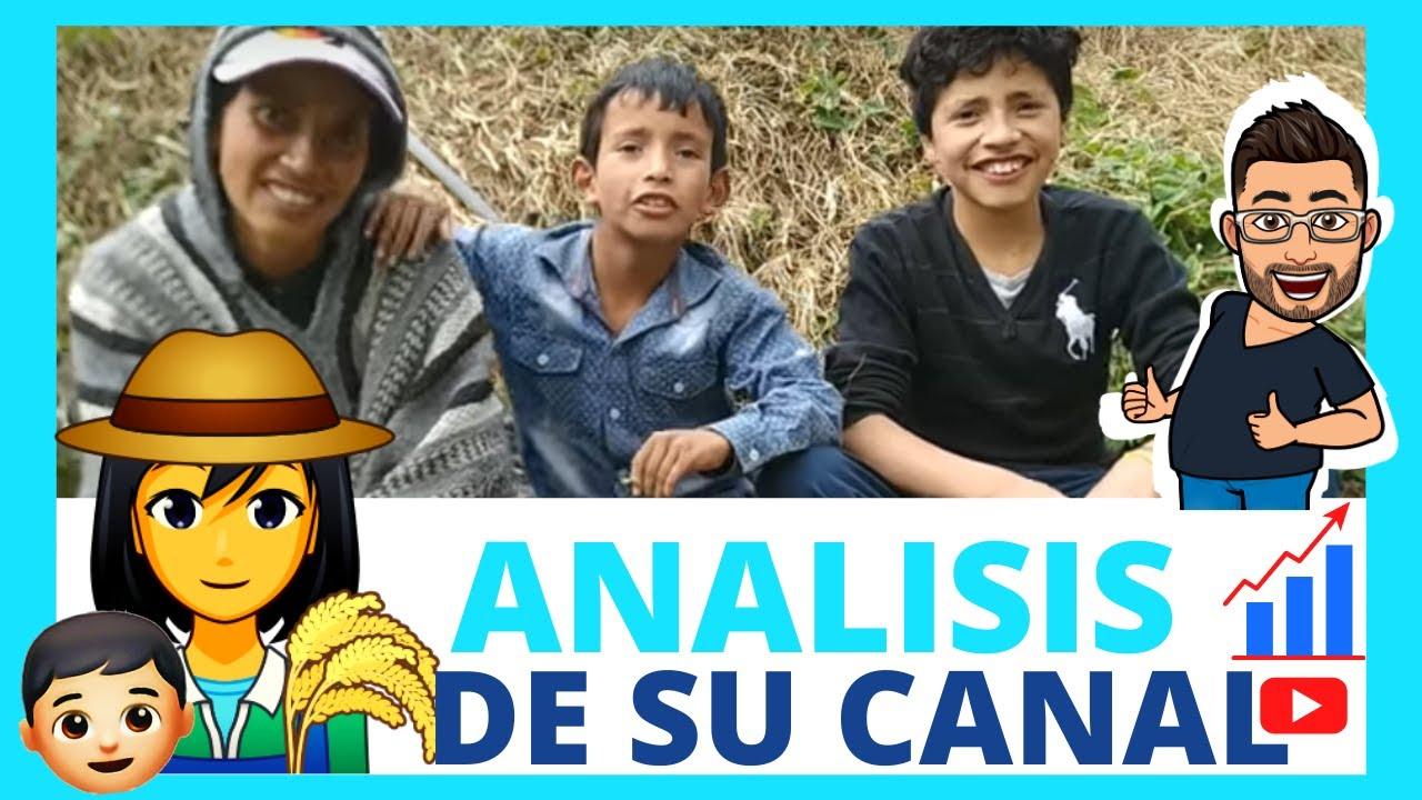nubia e hijos 👩🌾 👦🧑🌾ANALISIS DE SU EXITO Con su Canal   📈