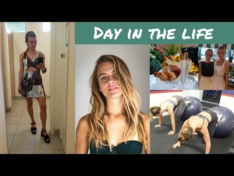 DAY IN THE LIFE | FITNESS BLOGGING | MY JOB