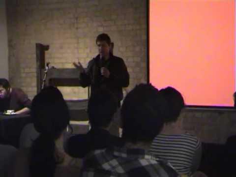 Frank Barat - TEDxRamallah in London 2011-04-16