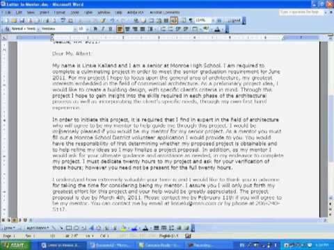 Mentor request letter dolapgnetband mentor request letter spiritdancerdesigns Choice Image