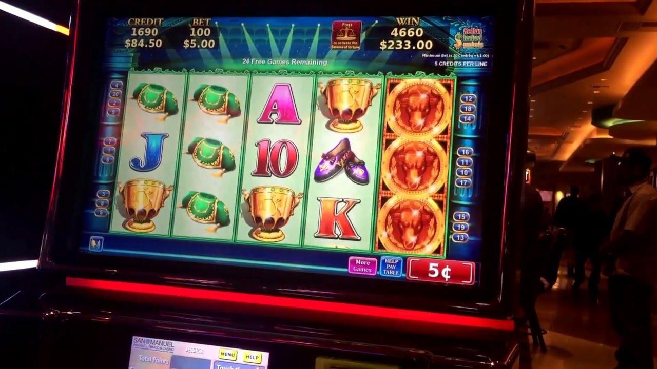 Slot machine mistery 100
