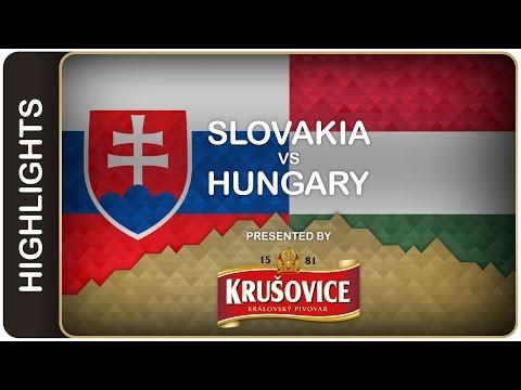 Slovakia opens the Worlds with a win | Slovakia-Hungary HL | #IIHFWorlds 2016