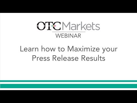 Maximize your Press Release Results